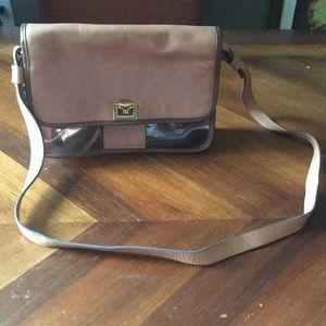 Zara cleat purse brown